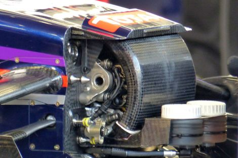 Red Bull RB10 S-Duct system