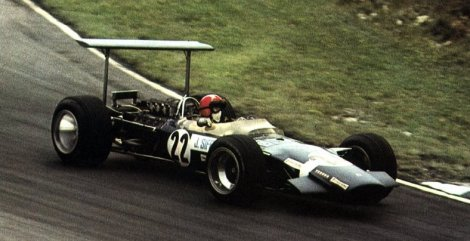 Jo Siffert in the Lotus 49B