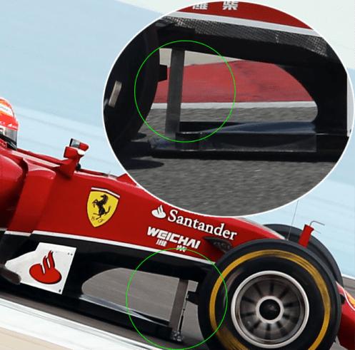 Ferrari F14-T T-Tray detail 2