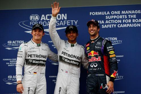 2014 Australian Grand Prix Qualifying