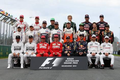 2014 Drivers - Melbourne