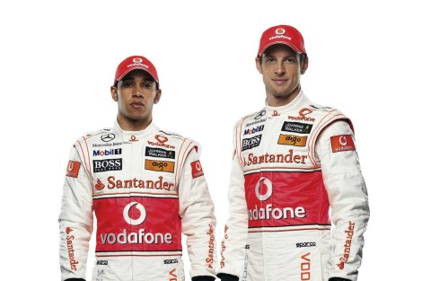 The last World Champion pairing on the grid was in 2010, when Hamilton and Button lined up together at McLaren.  Can anybody name the pair previous to them?