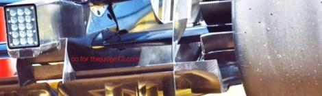 Mercedes W05 - Underbody Detail