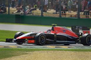 Max Chilton Marussia F1 Team