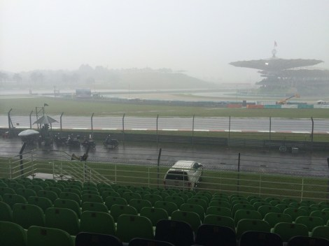 Should this same sight happen on Sunday, the GP could be under threat