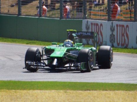Marcus Ericsson Green Monster Racing (aka Caterham F1)