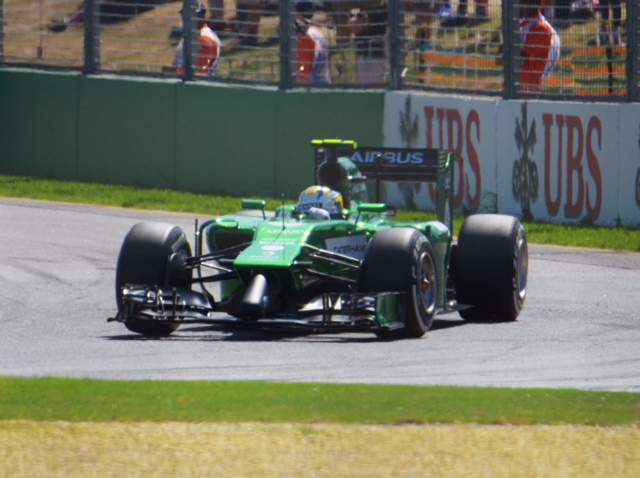 Marcus Ericsson Green Monster Racing (aka Caterham F1)