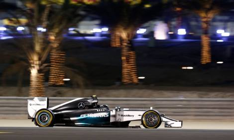 2014 Bahrain GP Qualifying- Rosberg