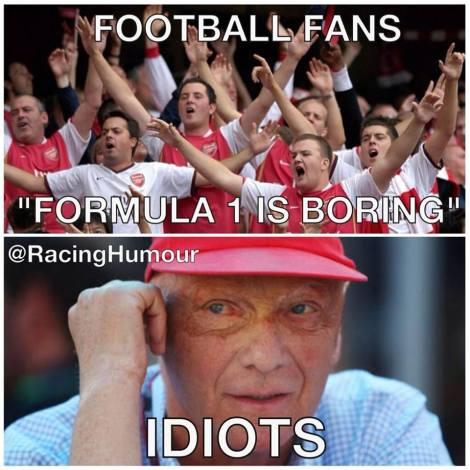 Football fans idiots