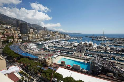 FORMULA 1 GRAND PRIX DE MONACO 2014 - Swimming Pool