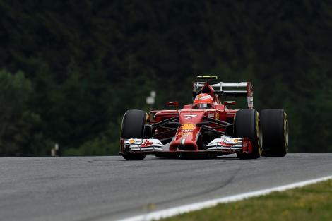 2014 AustrianGP - Kimi Raikkonen