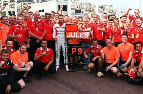 P9 for Jules Bianchi was a proud day for all involved with the team