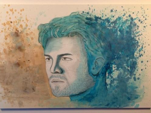 Rosberg painting Andries van Overbeeke