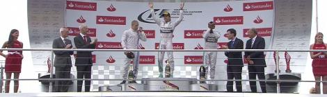 2014 German GP - Podium 2
