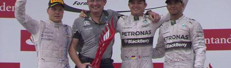 2014 German GP - Podium