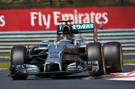 2014 HungarianGP - Nico Rosberg Pole 1