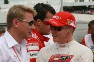 Race, Chris Dyer(aus), Track Engineer of Kimi Raikkonen, Mika Hakkinen (FIN)