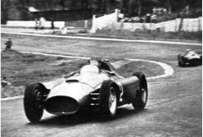 Fangio takes the lead