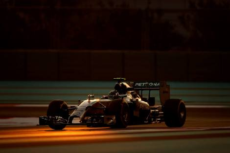2014 Abu Dhabi GP - Nico Rosberg