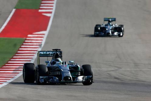 2014 US GP winner Lewis Hamilton