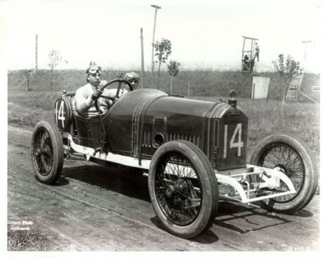 Arthur Duray at the 1914 Indy 500