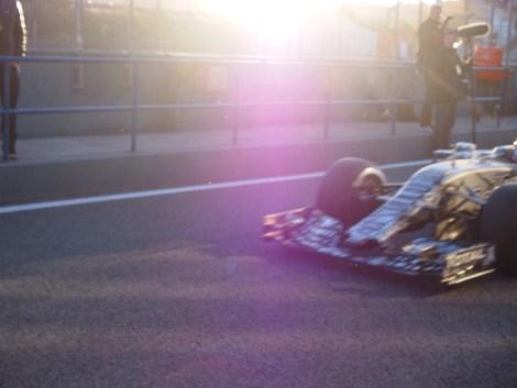 Ricciardo was in no mood for sticking around for photos