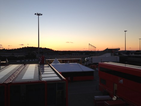The sun sets here in Jerez as the F1 fraternity retreats and will start preparations for Barcelona, in 15 days time.