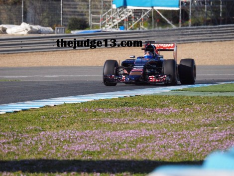 Sainz Jr day 1, morning
