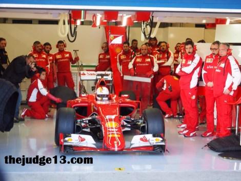 Vettel exits