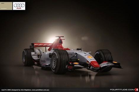 2006 Audi concept by Kim Stapleton (pointilism.co,au)