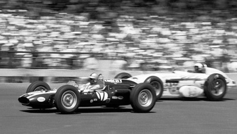 Jack Brabham at the 1961 Indy 500