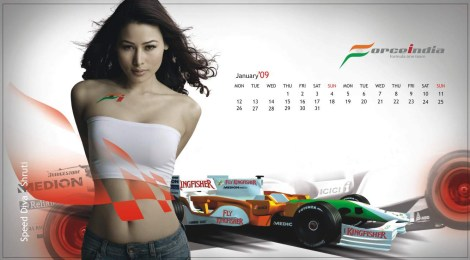 forceindia2009f1calendar_jan