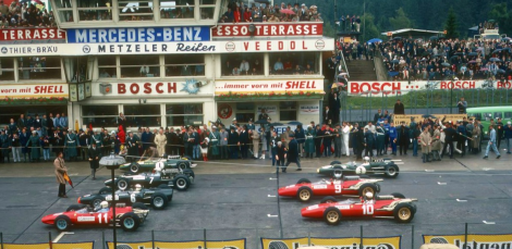 1966 german gp grid