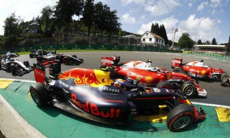 Max V Kimi at Spa