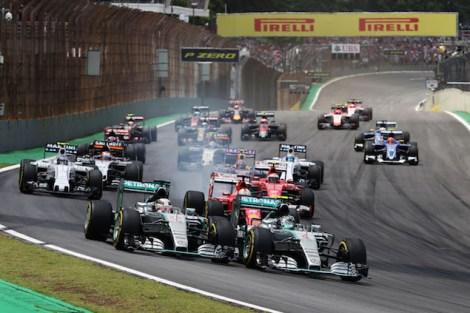 Motor Racing - Formula One World Championship - Brazilian Grand Prix - Race Day - Sao Paulo, Brazil