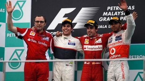 malay 2012 podium