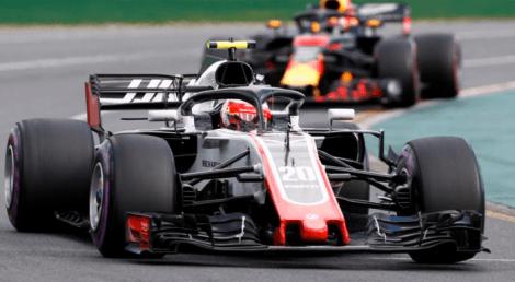 haas formula 1 2018 car