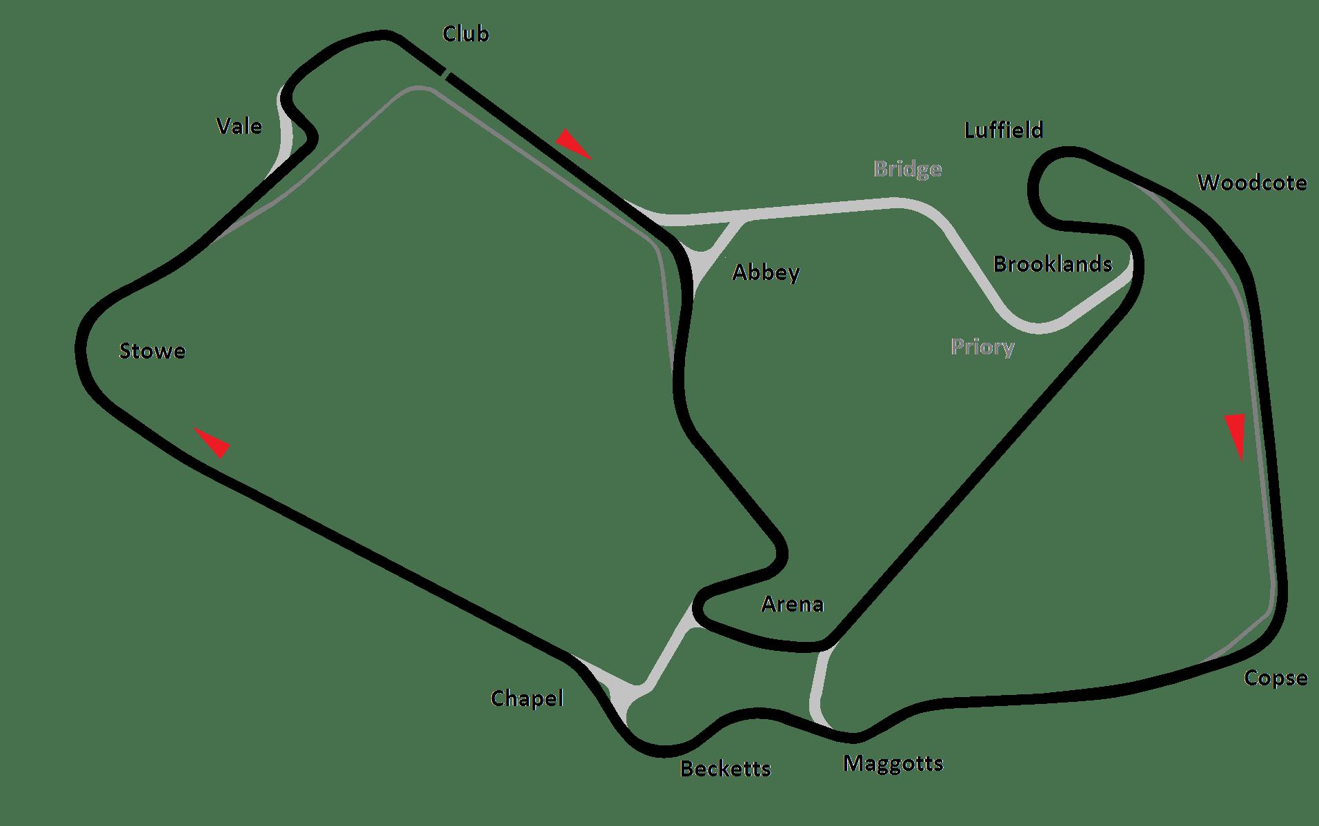 F1 Circuit Profile British Grand Prix Silverstone Round 9