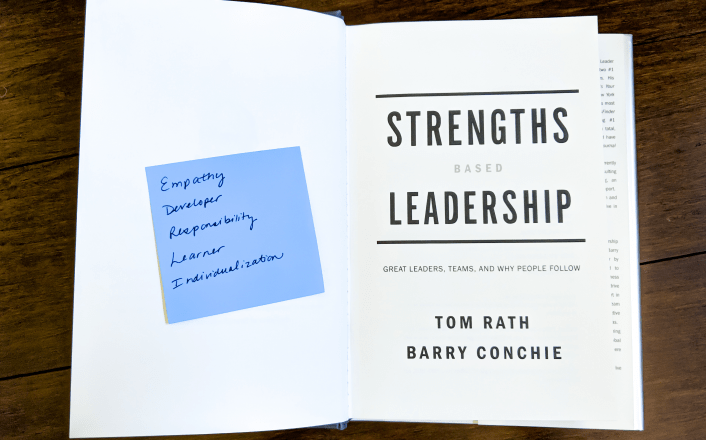 Strengths Based Leadership book