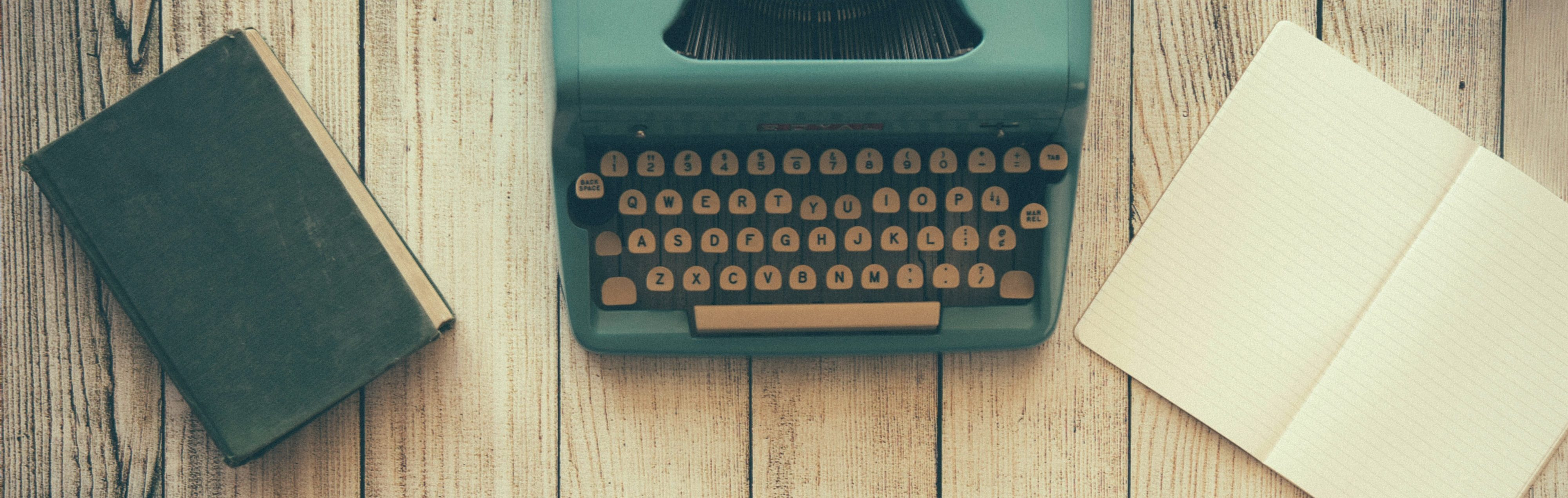 how to write for the juggle - typewriter image