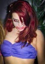 Jen as zombie Ariel, circa 2005