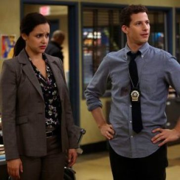 Brooklyn 99's Amy and Jake