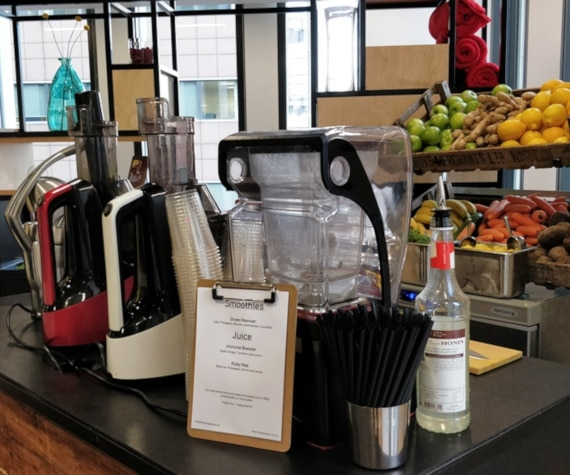 office smoothie bar