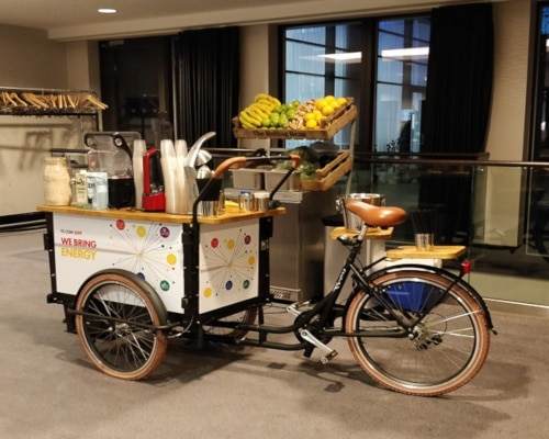 shell promotion smoothie bike