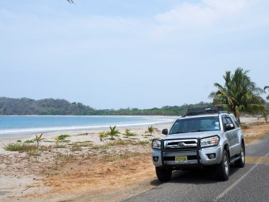 A quick stop on Playa Carillo