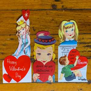 Vintage Valentine Bundle - Blonde Beauties