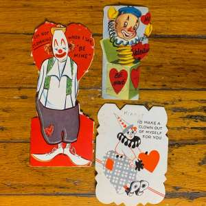 Vintage Valentine Bundle - Clowns