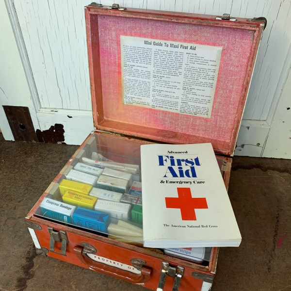 Vintage American Red Cross First Aid Kit