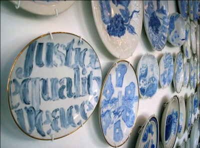 The Last Supper, installation detail 2006