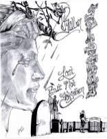 Original artwork by Glenn Allen Javens, SCI Forest in Marianville, PA. More work available here: https://javensoriginals.wordpress.com/